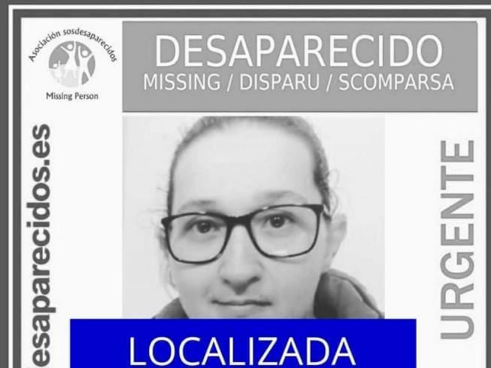 Lorena Subías Calvo, desaparecida en Zaragoza.