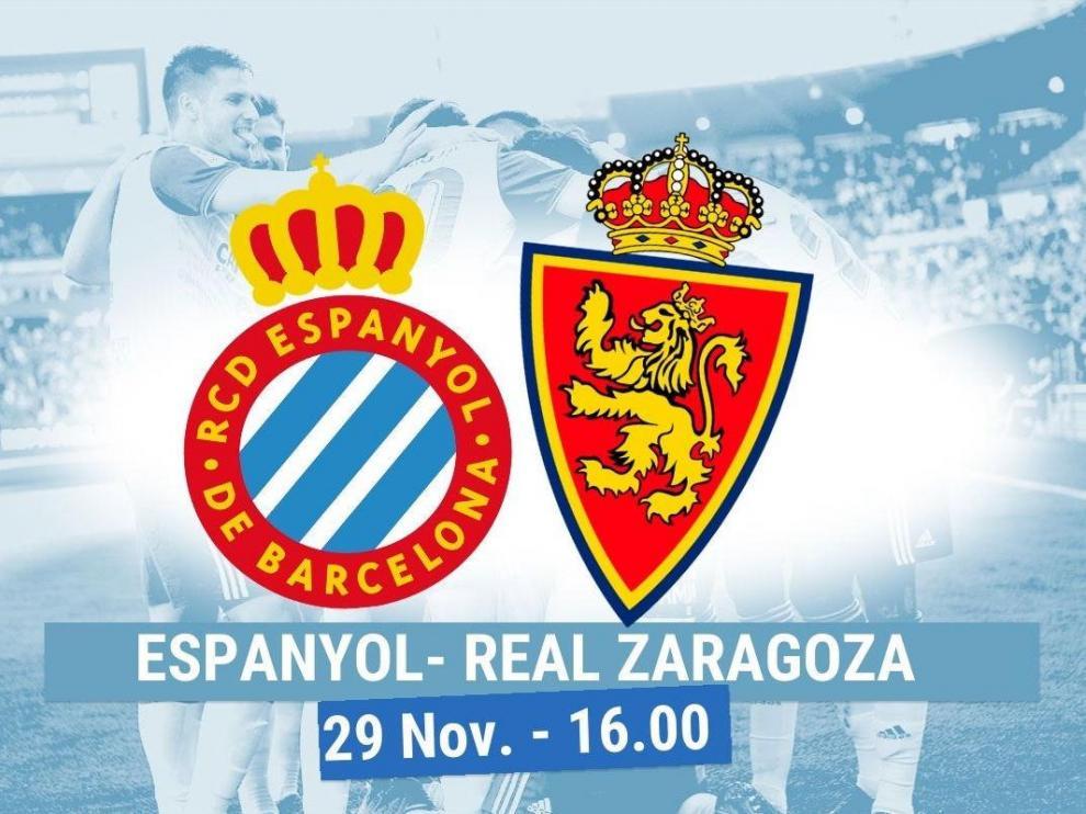 Horario del partido Espanyol-Real Zaragoza