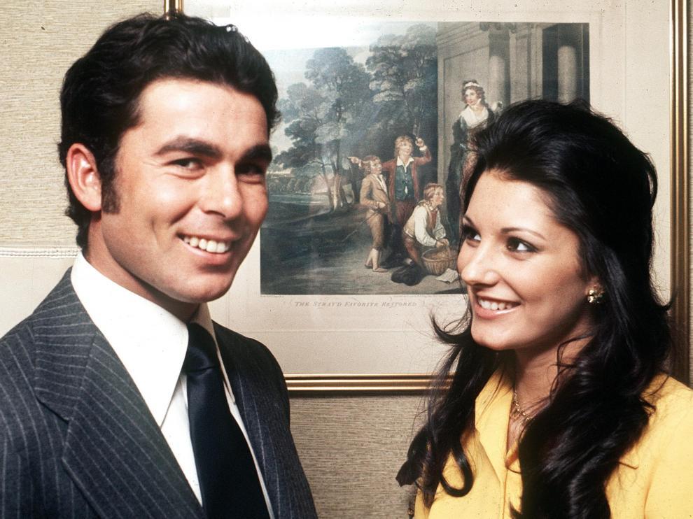 Paquirri con Carmina Ordóñez, con quien se casó en 1973.