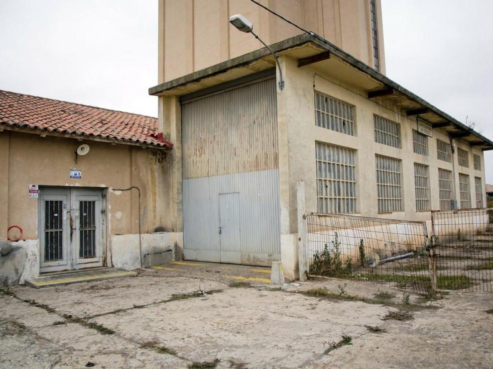 Uno de los dos silos que va a adecuar el Ayuntamiento de La Almunia.