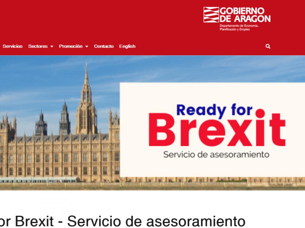 La web de Aragón Exterior ofrece el asesoramiento Ready for Brexit