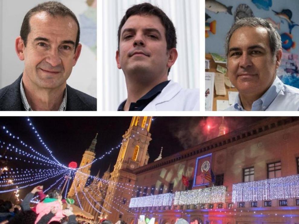 Enrique Bernal, Alberto Jiménez Schuhmacher y Nacho de Blas.