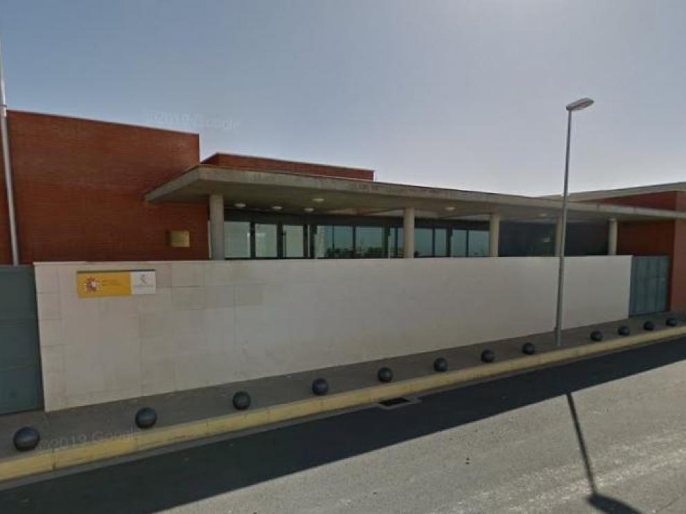 Cuartel de la Guardia Civil en Tamarite de Litera.