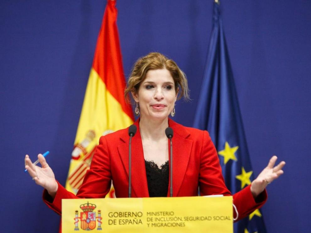 La secretaria de Estado de Migraciones, Hana Jalloul Muro