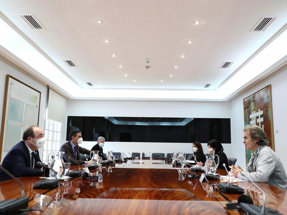 La reunión de seguimiento de la Comisión de Salud Pública, ayer en Madrid