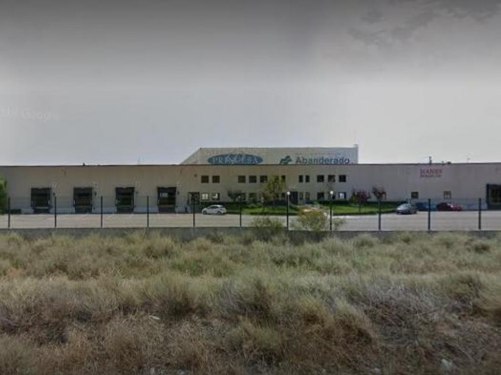 Un imagen de la planta de Hanesbrands Spain ubicada en Pina de Ebro.