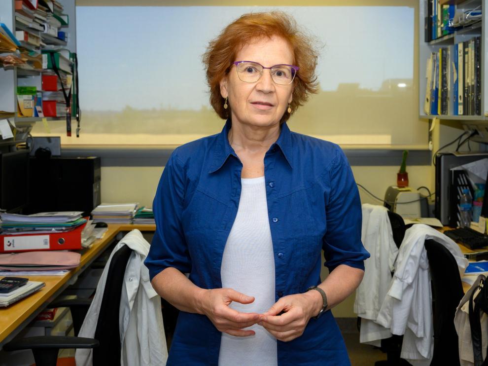 La bioquímica Margarita del Val ofreció una charla 'online' para Fundación Ibercaja.