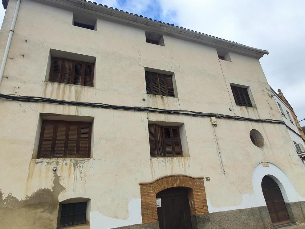 Edificio de la antigua guardería parroquial que va a rehabilitarse.