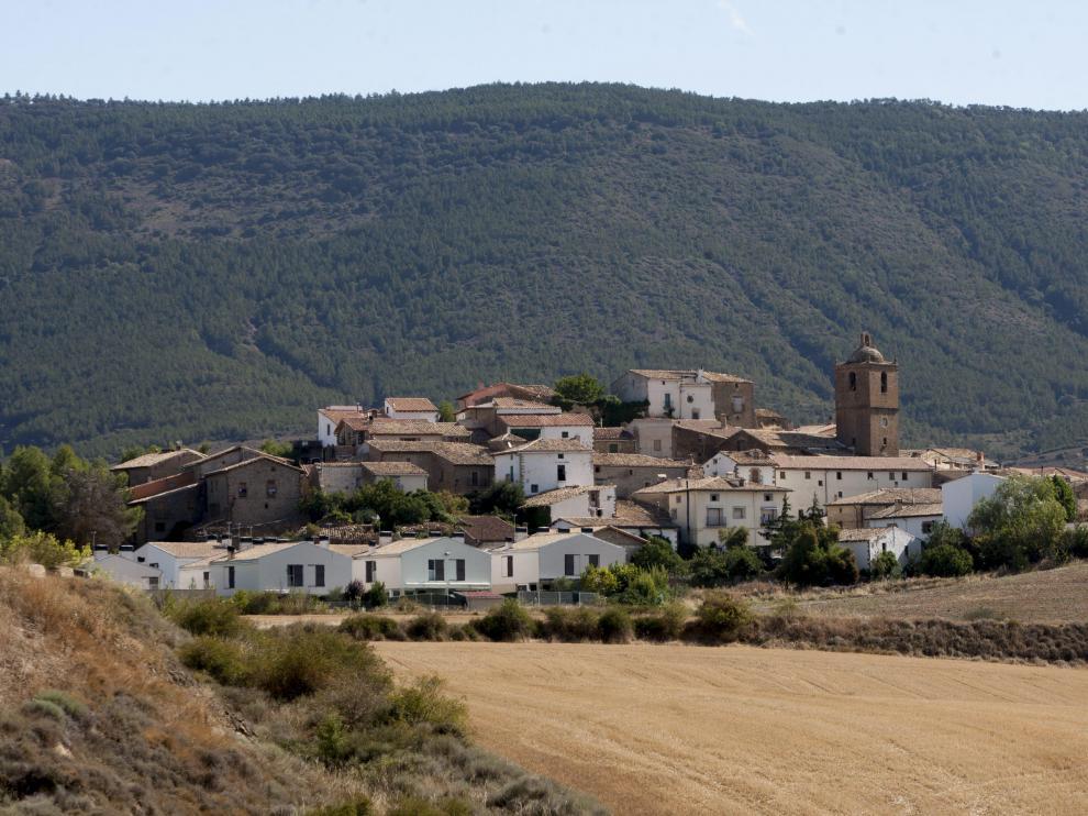 Urriés, con 43 habitantes, es uno de los muchos ejemplos de despoblación en Aragón.