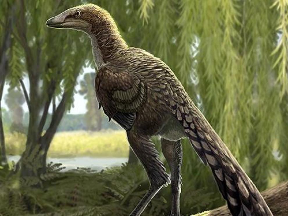 Recreación del dinosaurio 'Tamarro insperatus'.
