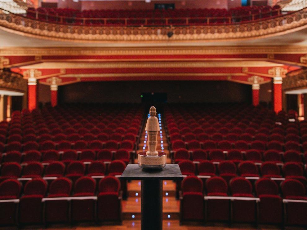 El Teatro Olimpia es uno de los escenarios del Festival de Cine de Huesca.