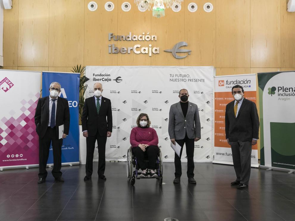 El convenio se firmó el pasado 4 de marzo en la sede de Fundación Ibercaja en Zaragoza