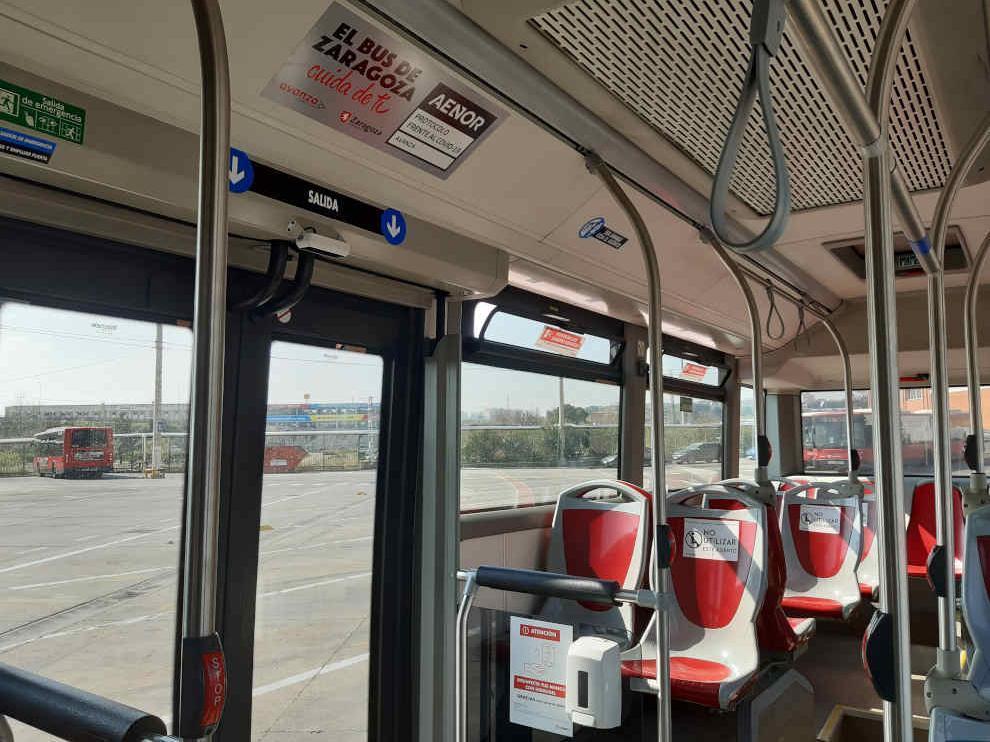 El autobús es un entorno seguro frente a la covid-19.