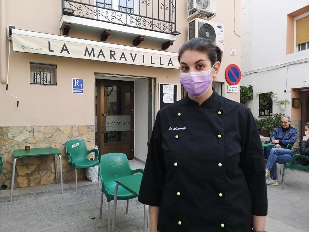 Andrea Vallespín, en La Maravilla.