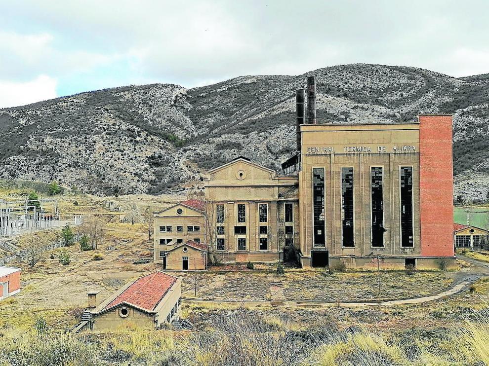 La central térmica de Aliaga (Teruel) fue una de las más modernas e importantes de España