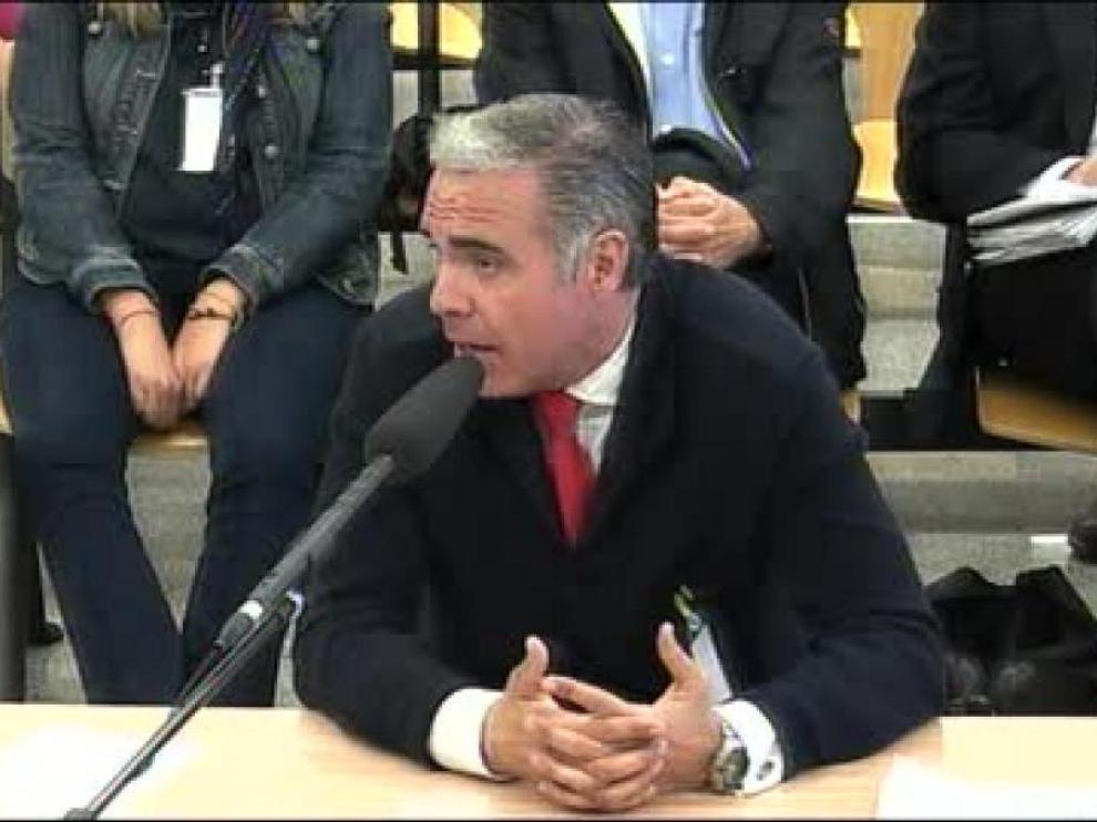 Roberto Fernández Rodríguez, en la Audiencia Nacional.
