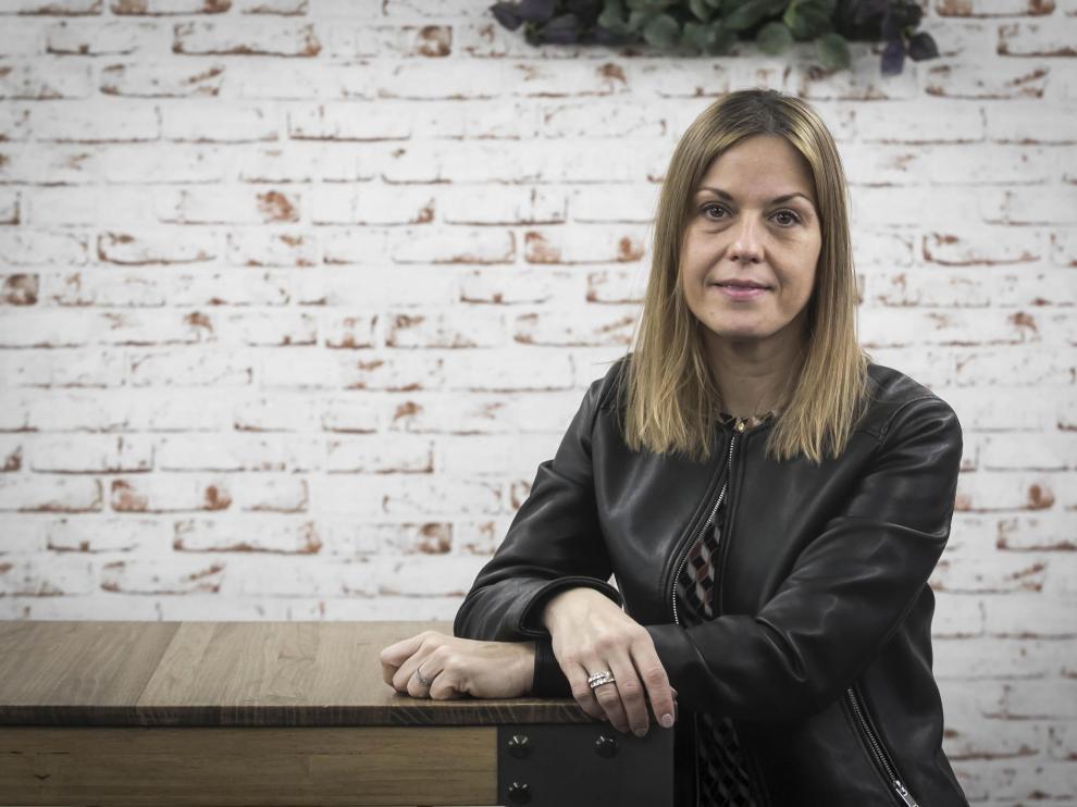 La 'coach' y formadora zaragozana Lorena Aznar