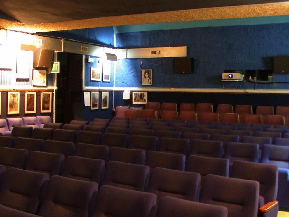 Interior de la sala Azzurro