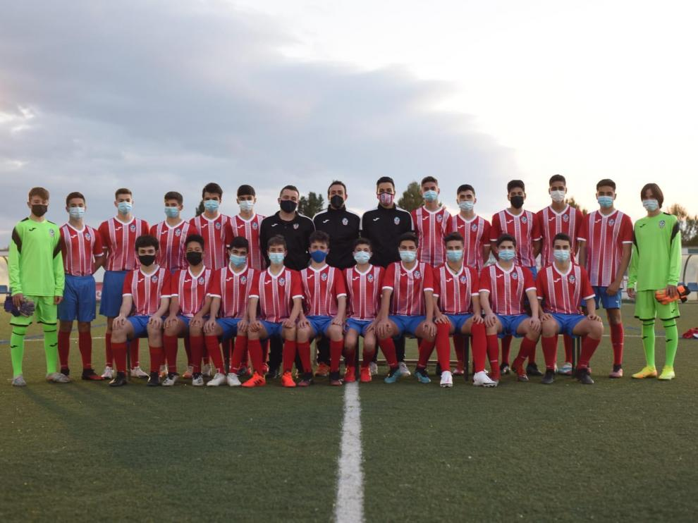 Plantilla del Atlético Teruel de la temporada 2020-2021.