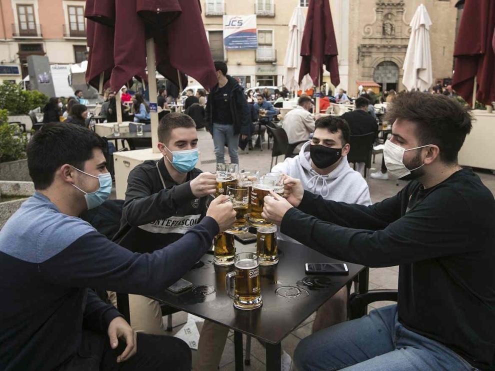 Terrazas en Zaragoza. Bares. Bar. Coronavirus.