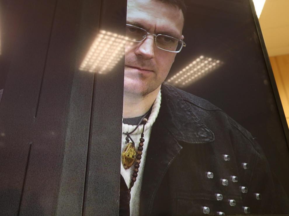 Norbert Feher, alias Igor El Ruso. Juzgados de Teruel/ 28/01/2020 fotos Javier Escriche [[[FOTOGRAFOS]]][[[HA ARCHIVO]]]