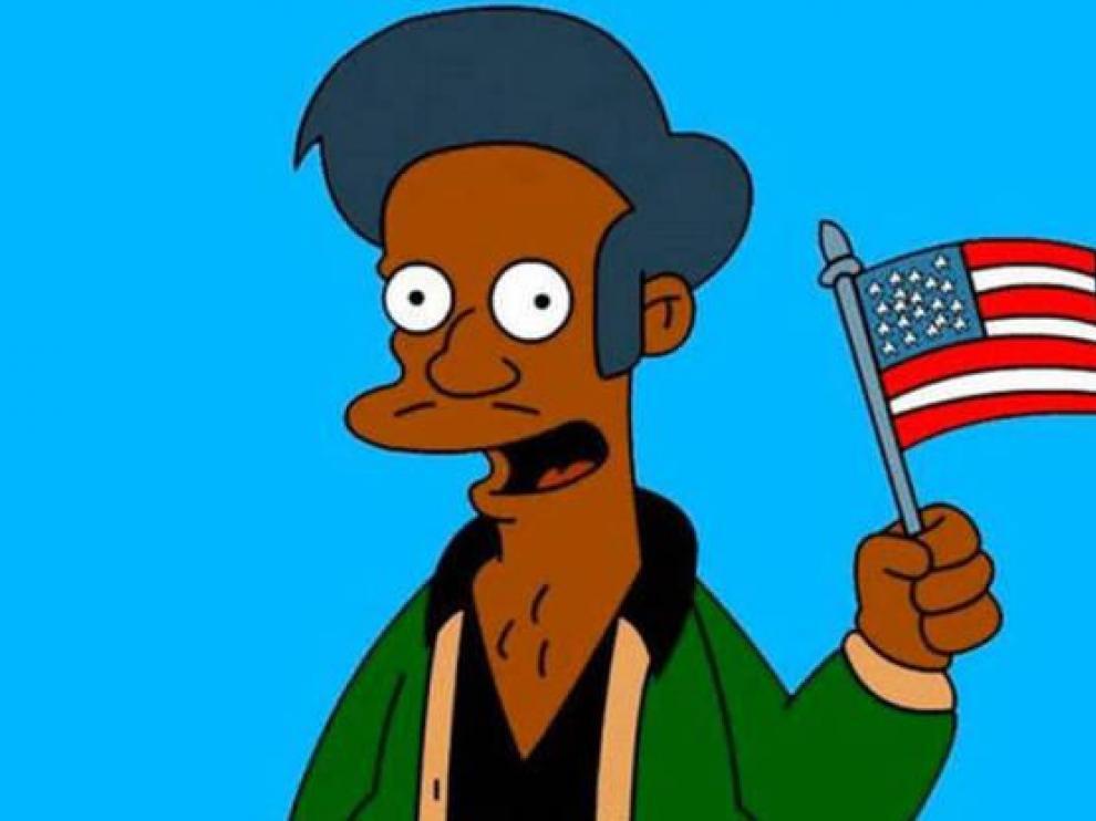 Apu, de la serie 'Los Simpson'