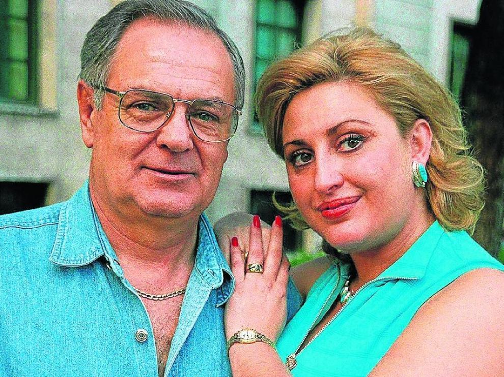 Raquel Mosquera y Pedro Carrasco.