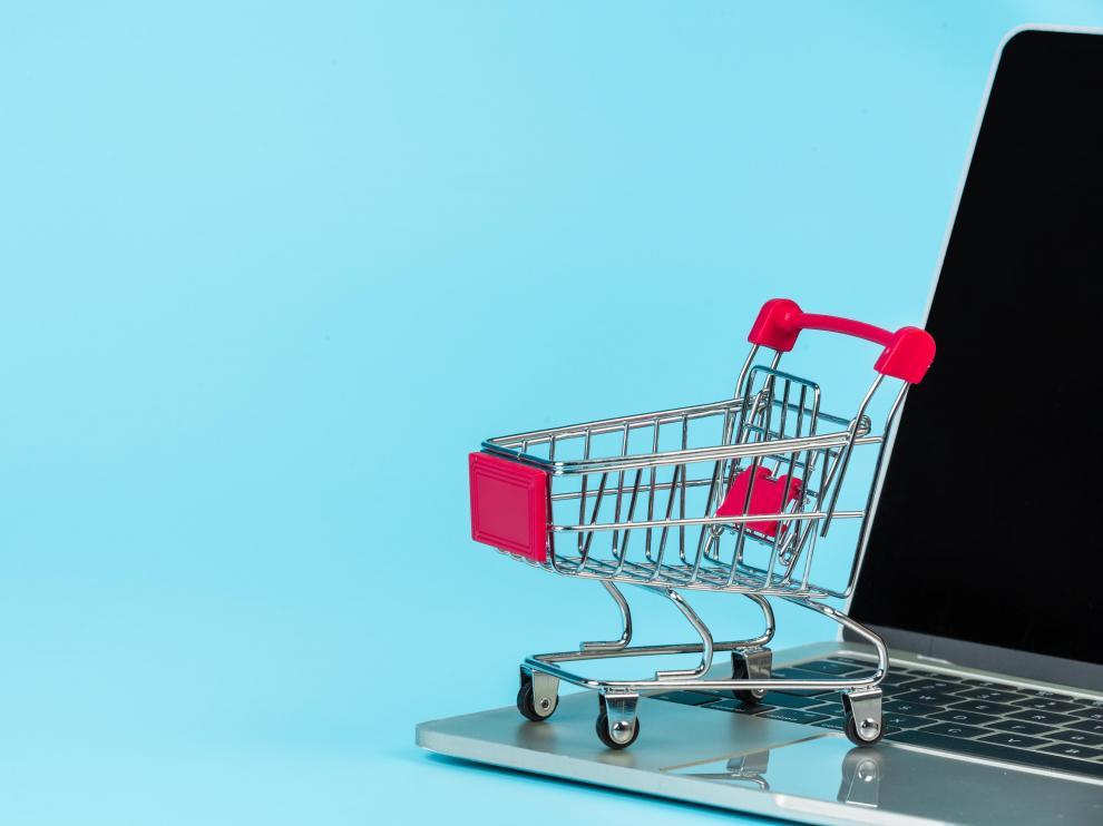 Venta online. Comercio electrónico.