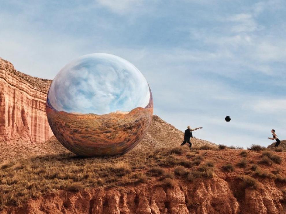 La Rambla de Barrachina, en la provincia de Teruel, protagoniza un anuncio de un gimnasio estadounidense