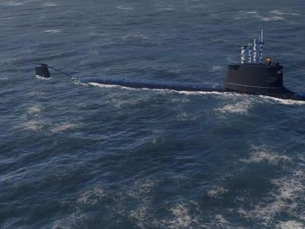 El submarino de última generación S-80