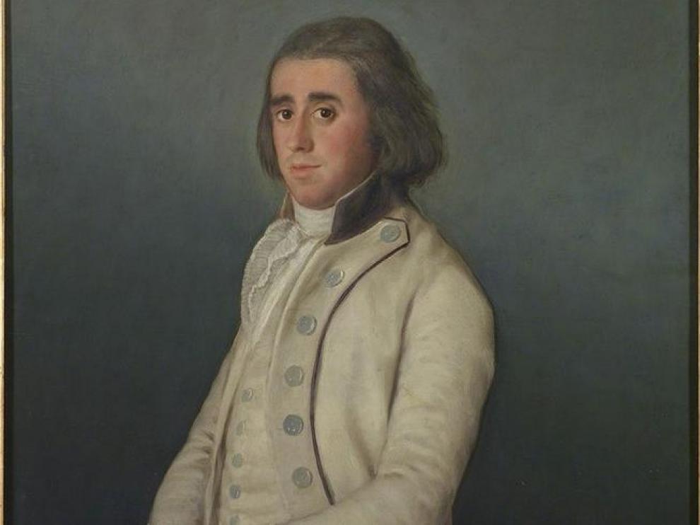 'Don Valentín Bellvís de Moncada y Pizarro', de Goya.
