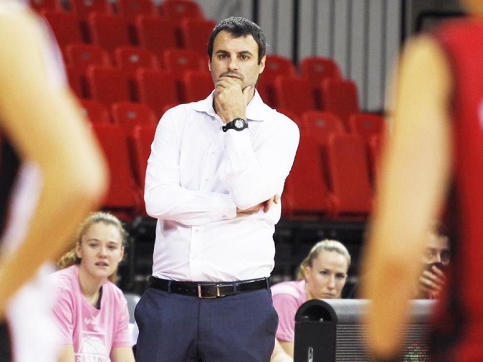Carlos Cantero, el nuevo entrenador del Casademont Femenino.