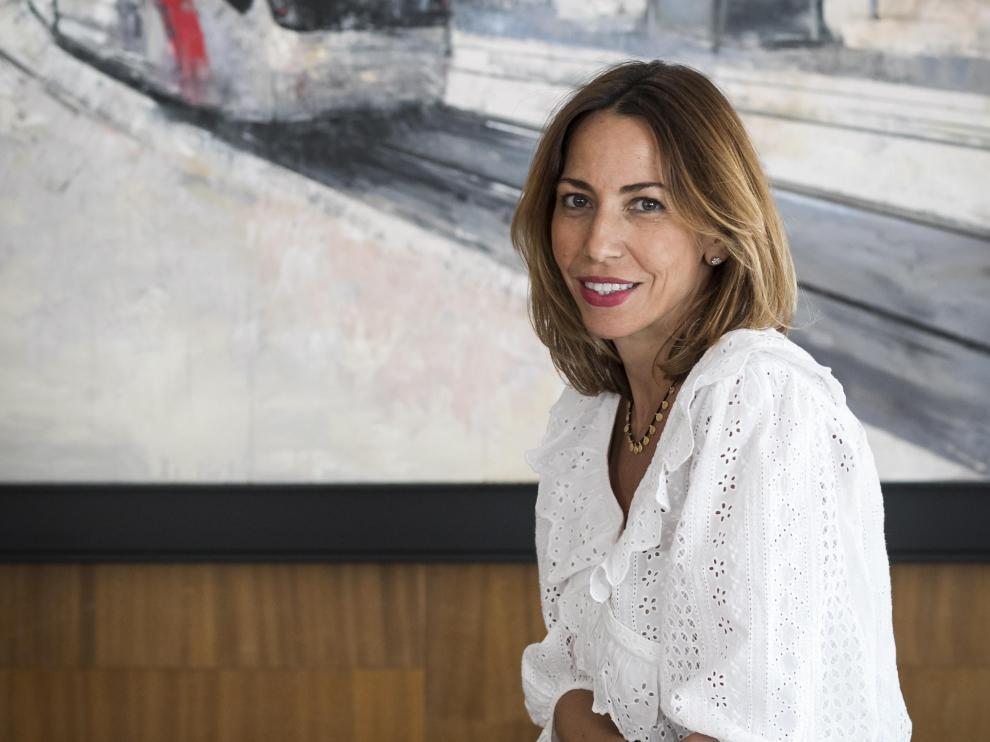 Natalia Chueca, consejera de Servicios Públicos y Movilidad del Ayuntamiento de Zaragoza.