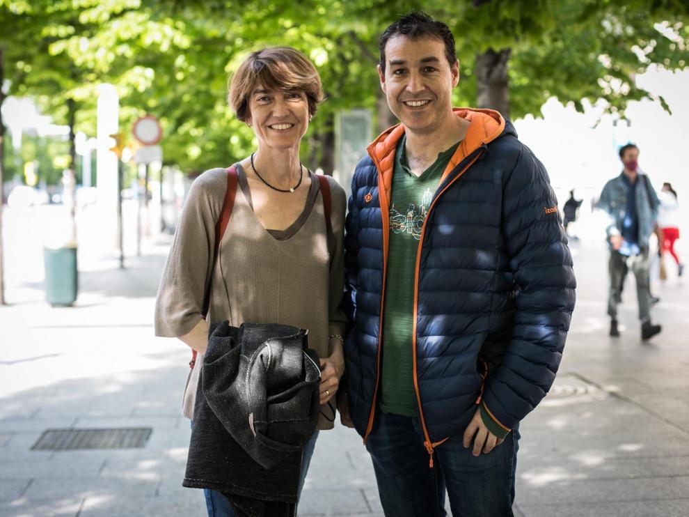 Beatriz García y Javier Ruiz reclamaron la plusvalía municipal.