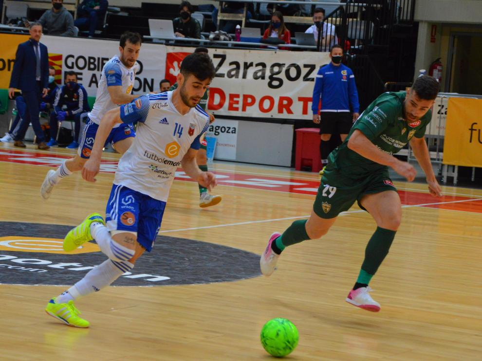 Partido del Fútbol Emotion contra el Córdoba.