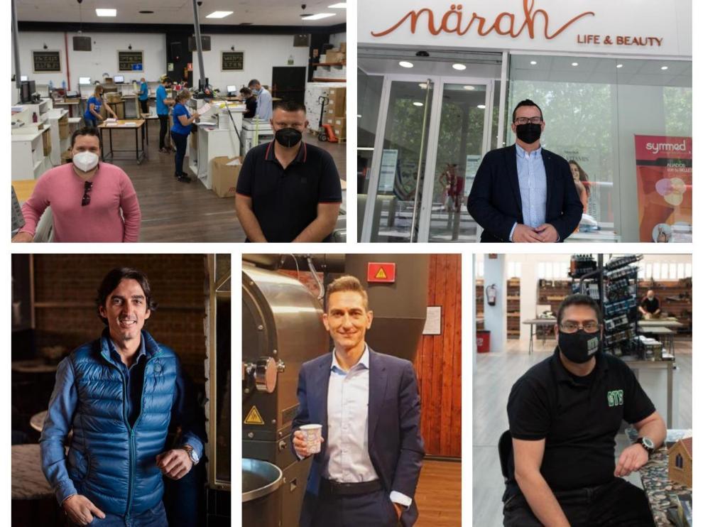 Negocios y profesionales que crecen en Aragón