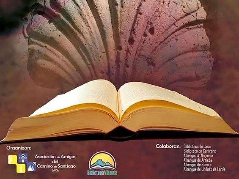 Cartel de la iniciativa 'Libros que caminan'