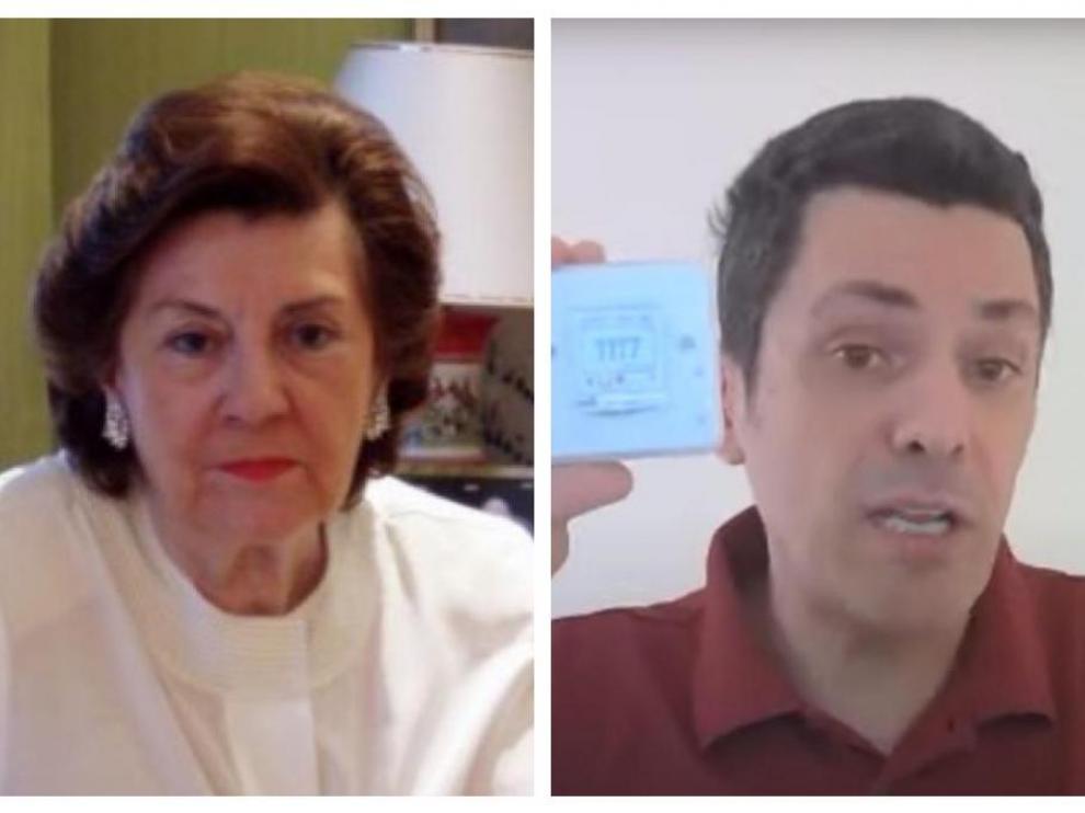 Mª Teresa Estevan y José Luis Jiménez