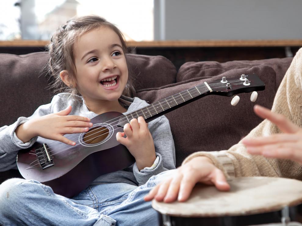 Podemos tener en casa un rincón musical con instrumentos