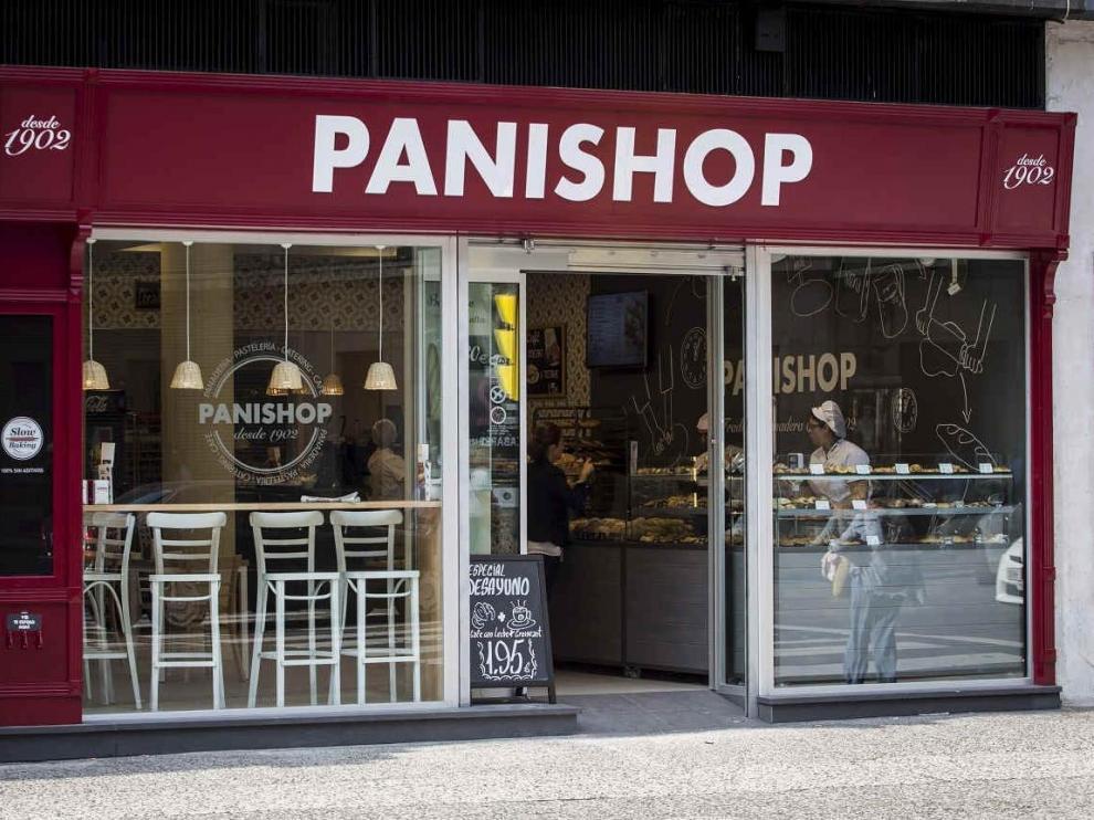 La tienda de Panishop del Coso 66, en Zaragoza.