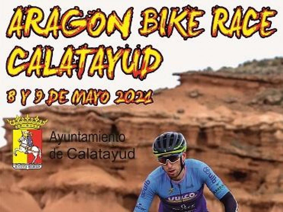 Cartel de la Aragón Bike Race