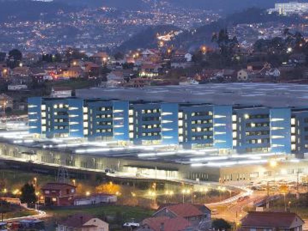 El Hospital Álvaro Cunqueiro de Vigo, donde se han secuenciado las muestras de los tripulantes que dieron positivo.