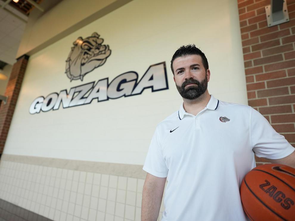 Jorge Sanz es entrenador ayudante en el equipo de la Universidad de Gonzaga, en Estados Unidos. Matt Villareal/Gonzaga