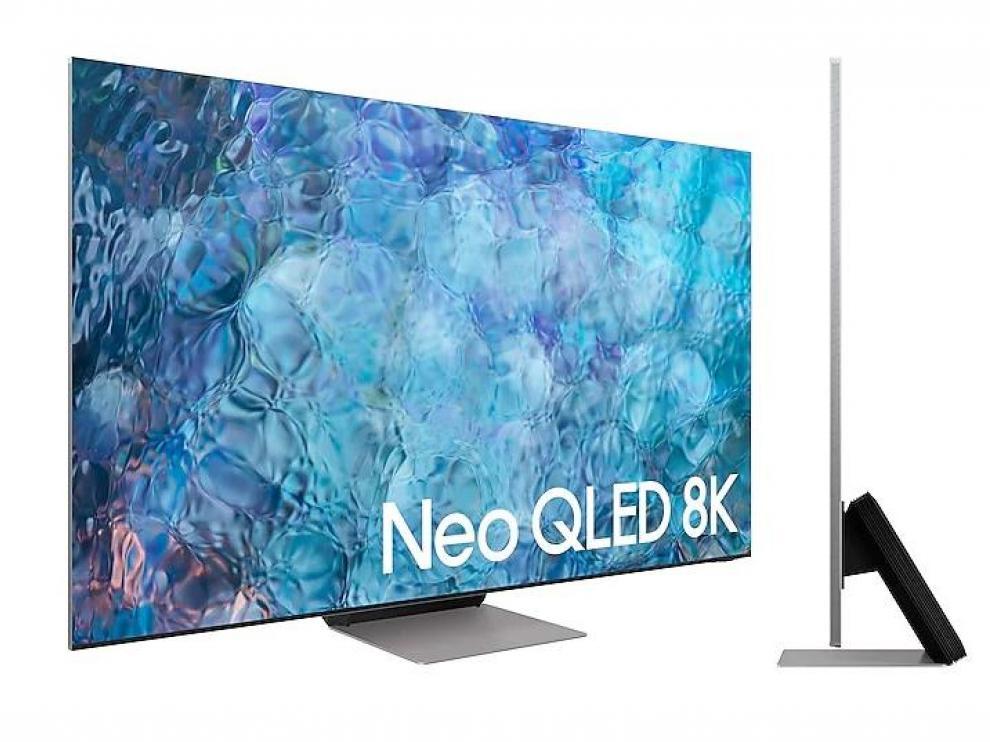 Los nuevos televisores de gama alta de Samsung tienen unos marcos imposibles y un perfil muy fino