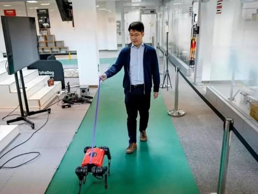 AlphaDog, el perro robot con Inteligencia Artificial