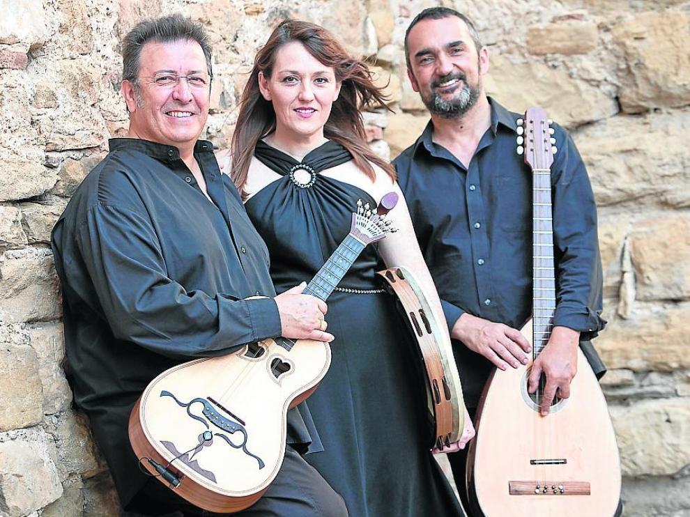 De izquierda a derecha: Luis Delgado, María José Hernández y Joaquín Pardinilla.
