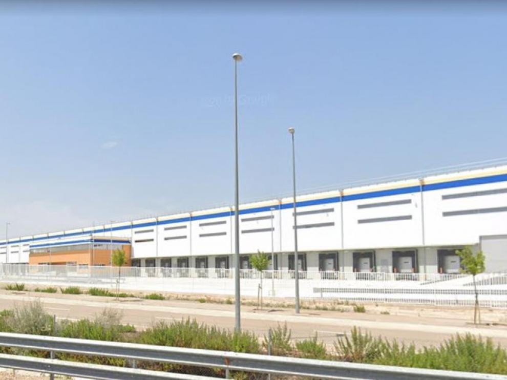 Instalaciones que el dueño de Epsa Internacional levantó junto a Decathlon y que ahora ocupará Amazon.