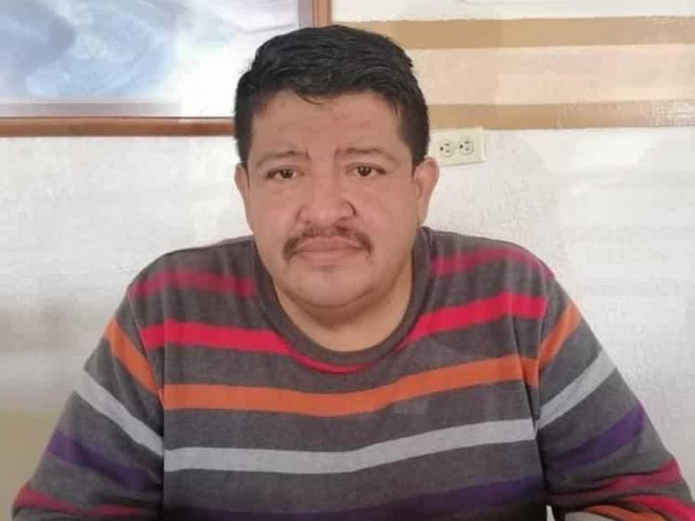 El periodista Benjamín Morales Hernández, asesinado en México.