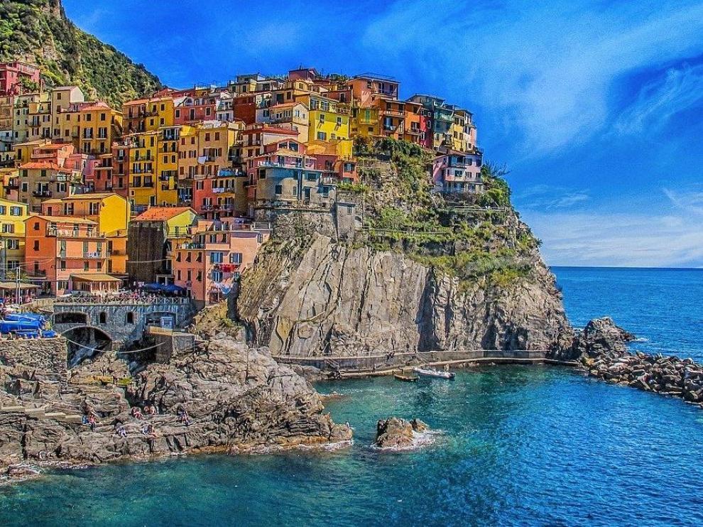 Manarola, una de las Cinque Terre en la costa de Liguria
