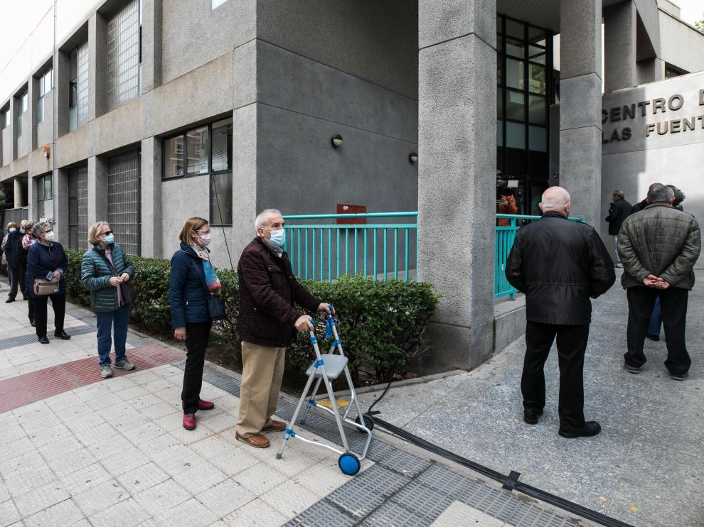 VACUNACION CON JANSSEN EN EL CENTRO DE SALUD